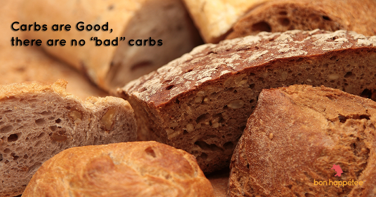 carbs are good