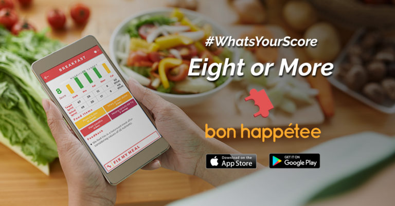 bon happetee indian food calorie counter app