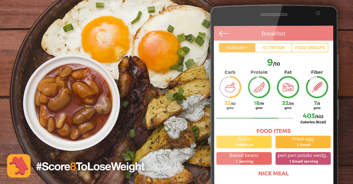 Bon happetee indian food logging app