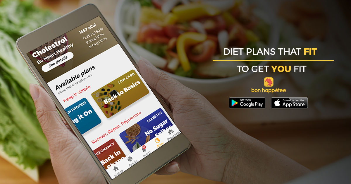 bon happetee best diet chart app for weight loss